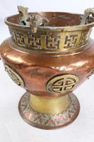 Pair of Chinese Brass & Copper Planters / Jardinières (13 of 13)