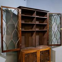 19th Century Gothic Library Bookcase (10 of 11)