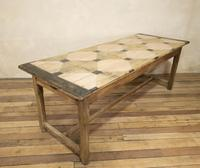 Early 20th Century French Painted Refectory Table (10 of 14)