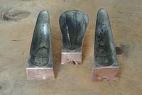 3 Original Late 19th Century, Small Copper Entrée Moulds Maker S.F London (6 of 6)