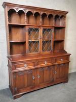 Wood Bros Old Charm Oak Dresser Tudor Brown (3 of 11)