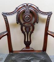 Set of 8 Mahogany Dining Chairs - H. Samuel, London (5 of 8)
