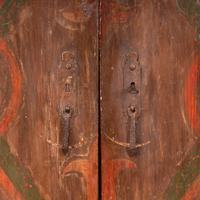 19th Century Spanish Painted 2 Door Cupboard (2 of 21)