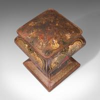 Antique Decorative Biscuit Tin, English, Shop, Retail, Container, Edwardian (7 of 12)
