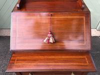 Edwardian Inlaid Mahogany Writing Desk (3 of 10)