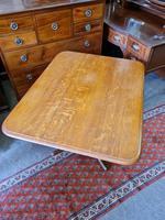 Golden Oak Georgian Tilt Table (5 of 5)