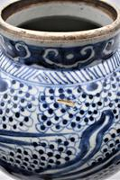 Large Chinese Phoenix Baluster Jar- Early 18th Century (8 of 10)