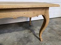 Bandy Leg French Bleached Oak Farmhouse Table (15 of 15)