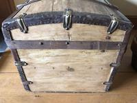 Antique Domed Wooden Sea Trunk c.1850 (7 of 13)
