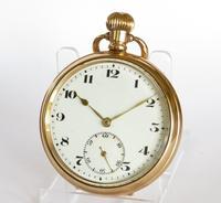1920s Bernex Stem Winding Pocket Watch (2 of 5)