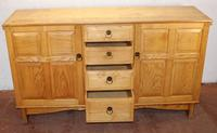 Lovely 1960s Burr Ash Sideboard in a Shaker Style (3 of 5)