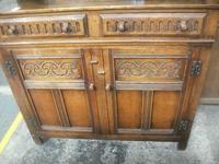 Carved Oak Court Cupboard (3 of 3)
