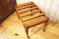Victorian Luggage Rack, Suitcase Stand (6 of 10)