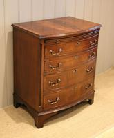 Mahogany Bow Front Chest of Drawers c.1920 (2 of 11)