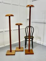 Set of 3 Very High Taylor's Wooden Fabric Display Shop Stands (3 of 7)