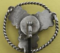 Victorian Silver & Agate Scottish Hat Pin Holder (2 of 4)