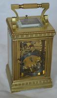 Strike Repeat Alarm Decorative Carriage Clock (2 of 6)