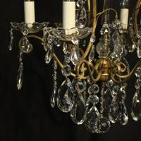 French Gilded Birdcage Antique Chandelier (3 of 10)