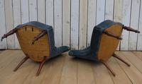 Pair of Antique French Tub Chairs (7 of 9)