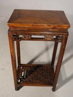 Attractive Early 20th Century Elm Occasional Table (5 of 5)