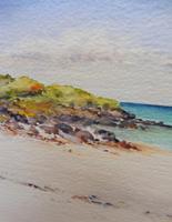 Watercolour Calgary Bay Isle of Mull Artist Joyce Dalgety (4 of 10)