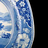 Early 19th Century Comb Back Meat Plate (5 of 8)