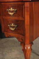 Queen Anne Style Serpentine Walnut Writing Desk (10 of 17)