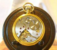 Vintage Swiss Limit Pocket Watch 1970s 17 Jewel 12ct Gold Plated FWO (10 of 11)
