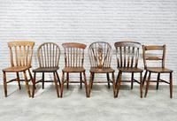 6 Assorted Windsor Kitchen Chairs (5 of 6)