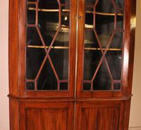 Corner Cabinet in Mahogany - 18th Century Georgian (4 of 13)