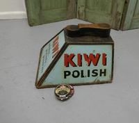 Kiwi Boot Polish Advertising Shoe Cleaning Box with Shoe Rest (2 of 6)