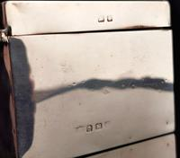 Art Deco Sterling Silver Cigarette Box (12 of 13)