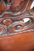 Large Japanese Carved Throne Chair (7 of 12)
