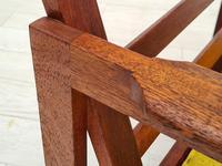 "Danish Design by Illum Wikkelsø Armchair ""Capella"" Series, 70s, Teak, Renovated-reupholstered (8 of 13)"