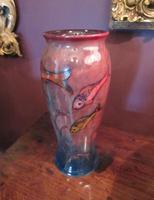 Rare Moorcroft Flambe Glazed Fishes Vase (9 of 9)