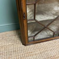 Victorian Mahogany Antique Glazed Corner Display Cabinet (5 of 6)