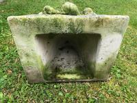 Architectural Feature Medieval Style Stone Cherub Acanthus Scroll Crown Corner Garden Corbel (13 of 13)