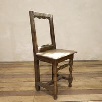 Set of Four French 18th Century Backstool Chairs (13 of 13)
