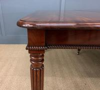 Gillows Style Regency Mahogany Dining Table (7 of 22)