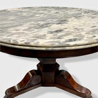 French Empire Marble Top Gueridon Centre Table (8 of 9)