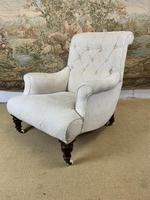 Beautifully Shaped English Armchair (2 of 6)