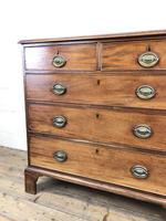 Antique George III Mahogany Chest of Drawers (6 of 12)