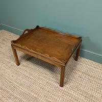 Edwardian Tray Top Antique Coffee Table (4 of 5)