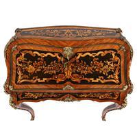 19thc Louis XV Style Marquetry Bureau en Pente (7 of 14)