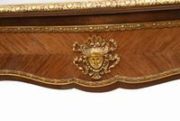 French Bureau Plat Antique Desk Writing Table Empire (12 of 13)