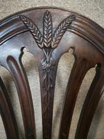 Set of Eight '6+2' Mahogany Dining Chairs in the Hepplewhite Style (11 of 15)