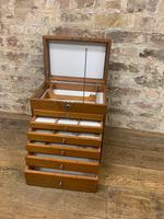 Mahogany Dentist Cabinet with Chrome Handle (4 of 9)