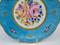 Vintage German Porcelain Plates / Chargers Bavarian /Set of Three (8 of 32)