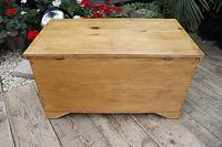 Restored Pine Blanket Box / Chest / Trunk / Coffee Table (8 of 8)