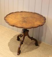 Good Quality Low Walnut Table (9 of 10)